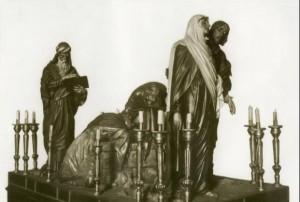 55-Foto antigua retorno al Sepulcro